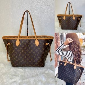 ❇️MINT❇️Authentic Neverfull MM tote bag